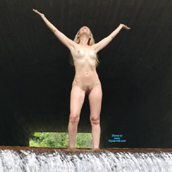 Woods And Waterfalls Pt1 - Big Tits, Blonde Hair, Hairy Bush, Nude Outdoors, Naked Girl, Amateur