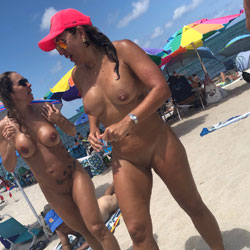 Haulover Hotties Pt. 2 - Nude Girls, Beach, Big Tits, Brunette, Outdoors, Shaved, Beach Voyeur