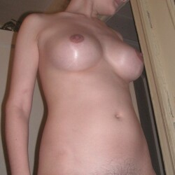 Tight boobs with out cloths