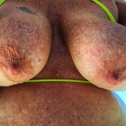 Very large tits of my wife - Big Tease