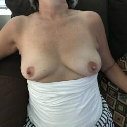 Medium tits of my wife - Sadwife