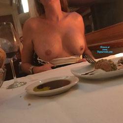 So.. Getting Caught - Big Tits, Public Exhibitionist, Flashing, Public Place, Amateur