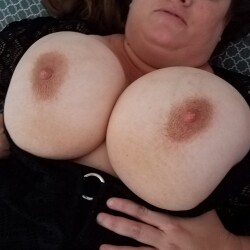 Very large tits of my wife - My wife