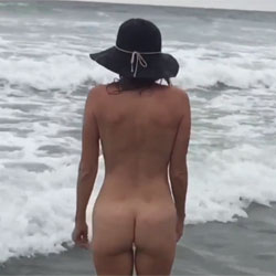 Nirvana Ripple - Nude Amateurs, Beach, Outdoors, Small Tits, Shaved