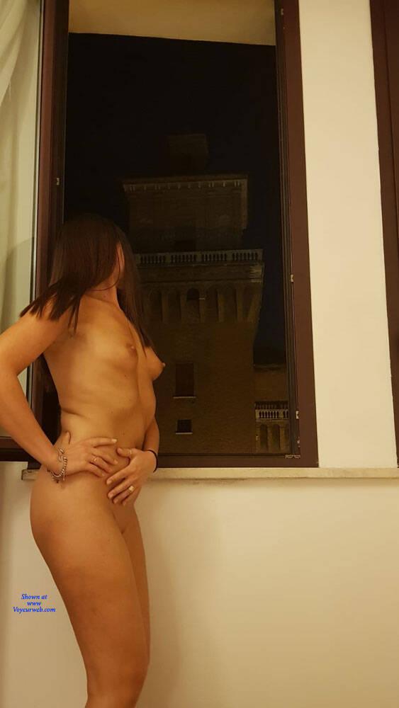 Pic #10 Vacanze In Croazia Parte 4 - Nude Girls, Brunette, Public Exhibitionist, Flashing, Outdoors, Public Place, Amateur