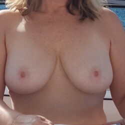 Large tits of my wife - Freddi