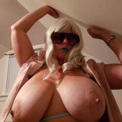 Large tits of my wife - Mrs. W