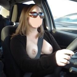 Medium tits of a neighbor - Ann Marie