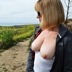 Medium tits of my wife - Shy Wife
