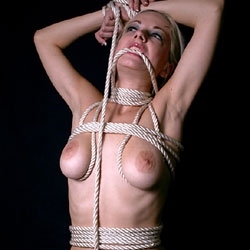 More Tied Breasts - Nude Girls, Big Tits, Blonde, Amateur, bdsm pics