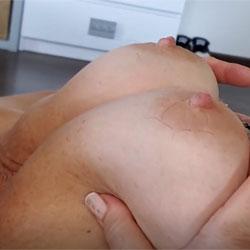 Pulling My Nipples - Big Tits, Brunette, Mature, Amateur
