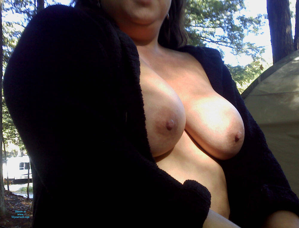 Pic #3 Nude Outside - Nude Girls, Big Tits, Blonde, Outdoors, Shaved, Amateur