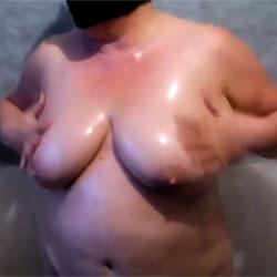 Oiling Big Tits - Nude Wives, Big Tits, Amateur, Hanging Tits