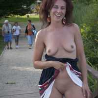 Visit to Hungary - Exposed In Public, Nude In Public