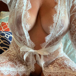 Sending Me Pictures While I'm At Work - Big Tits, Lingerie, See Through, Amateur