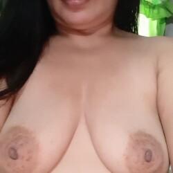 Medium tits of my wife - Tia Maria
