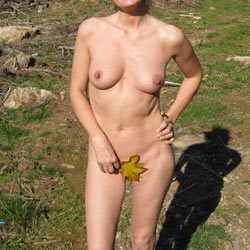 In The Mountains - Big Tits, Nude In Public, Nude Outdoors, Naked Girl, Amateur