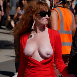Folsom Street Fair 2019 Part 1 - Big Tits, Nude In Public, Nude Outdoors
