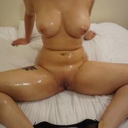 Very large tits of a neighbor - Sarah