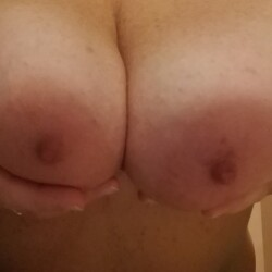 Large tits of my wife - Awesome wife
