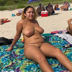 More Haulover Candids - Nude Girls, Beach, Big Tits, Brunette, Outdoors, Shaved, Beach Voyeur