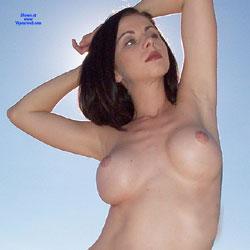 Desert Truck - Big Tits, Brunette Hair, Naked Girl, Amateur