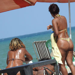 Asses From Brazil - Beach, Outdoors, Bikini Voyeur