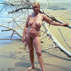 Various Outdoor Fun Pics Of Lynn Pt 3 - Nude Amateurs, Beach, Big Tits, Mature, Outdoors, Bush Or Hairy, Blonde