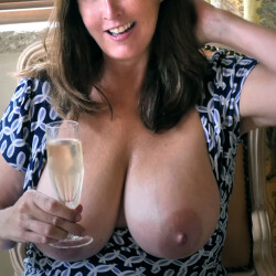Very large tits of my wife - Annika Holland