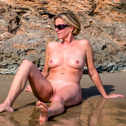 Beach Nudist And Exhibitionist - Nude Friends, Beach, Big Tits, Outdoors, Shaved, Amateur