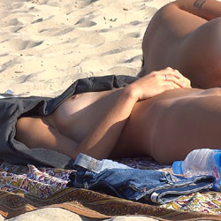 Sleeping Beauty - Beach, Beach Voyeur