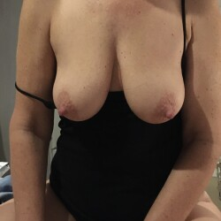 Medium tits of my wife - Joanna