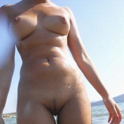 At Beach - Nude Girls, Beach, Outdoors, Amateur