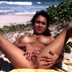 You Asked For Her - Nude Girls, Big Tits, Brunette, Outdoors, Penetration Or Hardcore, Bush Or Hairy, Pussy Fucking, Amateur, legs spread wide open