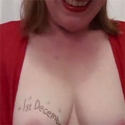 Advent Calendar Day 1 - Big Tits, Amateur