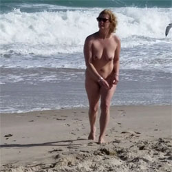 Marie's Naked Day In Florida - Nude Wives, Beach, Big Tits, Outdoors, Shaved, Amateur