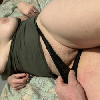 Medium tits of my wife - Julie