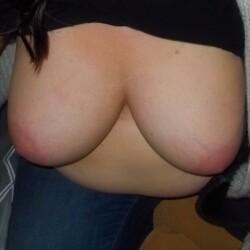 Large tits of my girlfriend - my ladies nice tits