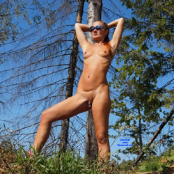 Princess In The Forest! - Nude In Public, Nude Outdoors, Perfect Tits, Redhead, Shaved, Naked Girl, Sexy Ass, Amateur