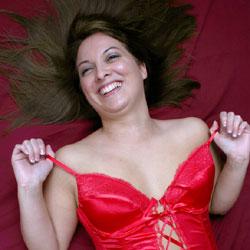 Red Valentines Lingerie - Brunette, Lingerie, Amateur, Medium Tits