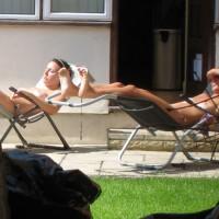 Girlfriend Sunbathing