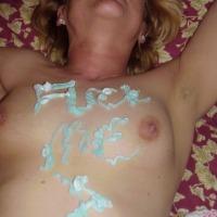 My medium tits - Allie