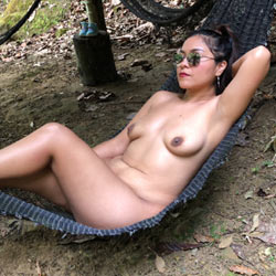 Con La Naturaleza  - Big Tits, Brunette Hair, Nude Outdoors, Naked Girl, Amateur