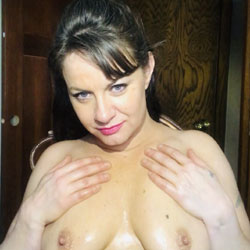 On A Cold Stormy Night  - Big Tits, Brunette Hair, Mature, Amateur