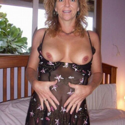 Large tits of my wife - wendy