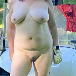 On The Golf Course - Nude Girls, Big Tits, Public Exhibitionist, Outdoors, Shaved, Amateur