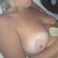 Large tits of my wife - Groovygoolie