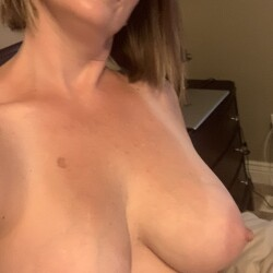 Large tits of my wife - Amber