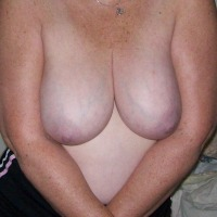 Very large tits of my wife - Ample Annie