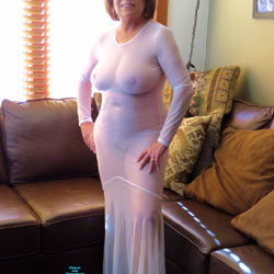 Sheer White - Big Tits, High Heels Amateurs, Mature, See Through, Wife/wives, Amateur